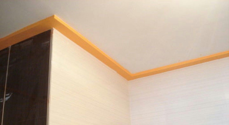 Como pegar molduras de escayola trendy latest falso techo - Precio moldura escayola techo ...